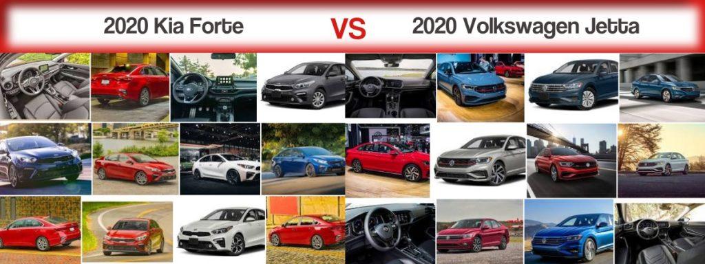 2020 Kia Forte vs. 2020 Volkswagen Jetta