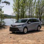 2022 Toyota Sienna Woodland narrows gap between minivan and SUV